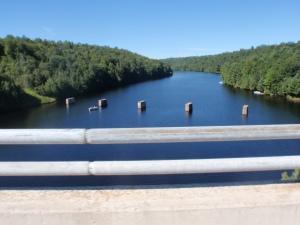Bridge over the River M