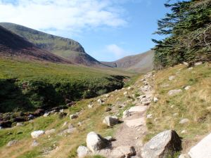 Path to Slieve Donard