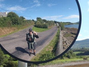 Reflection on the road to Bantry Bay