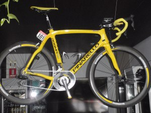 Bradley's TDF Bike at Tollos